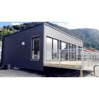1 Floors Modular Residential Flat Roof Prefab House