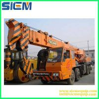 Used truck crane, used TADANO/KATO/ZOOMLION/SANY/XCMG concrete truck crane