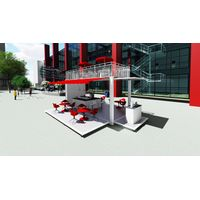 20ft fever container coffee bar Folding, Expandable Container Homes, Coffee Shop thumbnail image