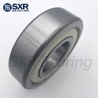 China Brand SXR Chrome Steel Gcr15 Black Edges Black Corners Deep Groove Ball Bearing 6306 2RS thumbnail image