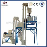 2015 Poultry feed production line/feed processing equipment(1.0-1.5tph)