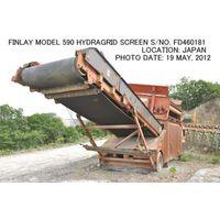 "USED ""FINLAY"" MODEL 590 SEMI-PORTABLE HYDRAGRID SCREEN S/NO. FD460181. thumbnail image"