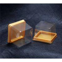 Square cake plastic boxes storage thumbnail image