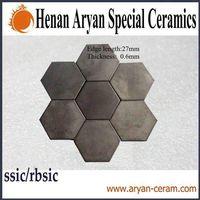 High density&hardness&temperature refractory pressureless sintered silicon carbide plates