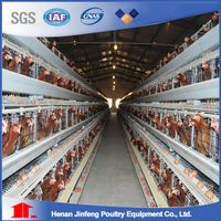 H Type Chicken Cage for Chicken Farm thumbnail image