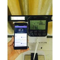 body composition monitor with report printing service for 12 body indicators