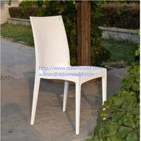 DDW Rattan Plastic Chair Mold Plastic Rattan Chair Mold
