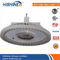 Hishine Industrial led high bay lighting 200W UFO model with CB,TUB,UL,CUL,DLC Approved
