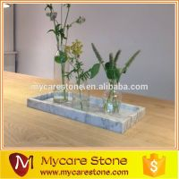 Bathroom Cosmetic Marble Tray Serving Set