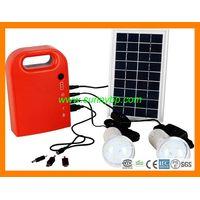 3W Portable Solar System Lighting Kit thumbnail image