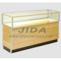 Aluminium Extrusion Frame Assembled Glass Showcase
