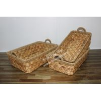 best selling product of weaving water hyacinth storage basket-SD4968A-3NA
