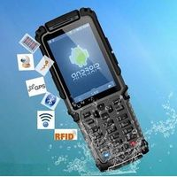 Portable Android PDA barcode scanner terminal with RFID/WI-FI/GPRS/WCDMA TS-901 thumbnail image