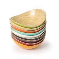 Hot selling bamboo bowl high quality made in Vietnam