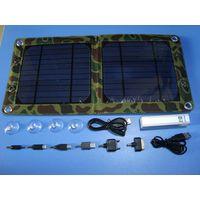 7watt foldable solar bag charger kit CY-707 thumbnail image