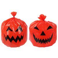 Pumpkin leaf bags halloween large decorative pumpkin lawn bags for outdoor yard decor