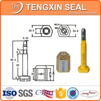 competitive price container door bolt seals