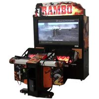 Rambo Gun Shooting Game Machine Amusement Arcade Machine Equipment