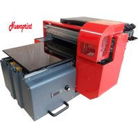 Best a3 size digital UV led flatbed printer printed on wood sticker printing machine NVP3256