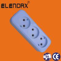 German 3 Way Extension Socket(E8003) thumbnail image
