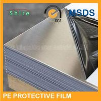 surface protection film for stainless steel/stainless steel protective film/pe stainless steel plate