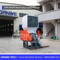 single shaft plastic crushing machine/plastic grinder