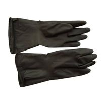 Long Safty Black industrial rubber gloves working gloves