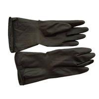 Safty Black industrial rubber gloves working gloves