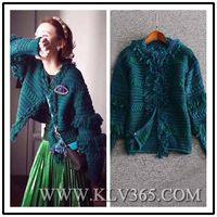 New Design Women Fashion Winter Wool Cashmere Sweater Cardigan Outerwear thumbnail image