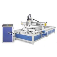 Bent Wood Chair Back Engraving Cutting CNC Router Machine 1330C2W2 thumbnail image