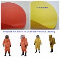Fireproof PVC Fabric for Chemical Protective Clothing