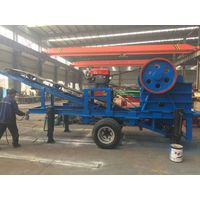 China Mobile Plant Ore/Mineral/Metal Ores Jaw Crusher Station