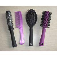 Plastic hair comb set