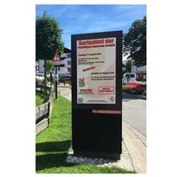 70 inch outdoor android LCD media advertising player advertising screen LCD display digital signage thumbnail image
