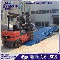 Spower warehouse hydraulic mobile loading ramps for trailers thumbnail image