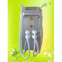 elight+ipl+rf+laser tattoo removal 4 in 1 multifunction machine