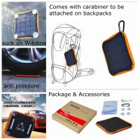 Waterproof Solar Charger 5600 WT-S020 thumbnail image
