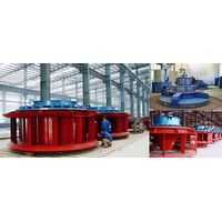 Kaplan hydro turbine or Propeller turbine