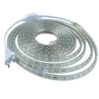 super bright IP65 Flexible LED Strip Lights smd 5050 warm white 1M 5M 10M 50M AC110v-120v LED Strip thumbnail image