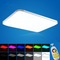 Colorful Modern Led Ceiling Lights For Home Ceiling Decorative RGB Light Fixture Indoor Lighting