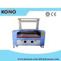 150W CO2 laser cutting machine for textile 15mm cutting thumbnail image