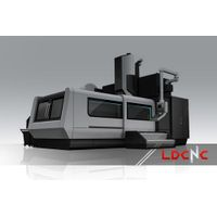 Cast Iron Base CNC Gantry Machining Center