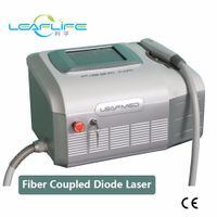 2018 Leaflife Portable 810nm fiber coupled diode laser hair removal machine