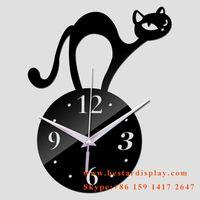 Lovely design Plexiglass PMMA acrylic wall clock thumbnail image