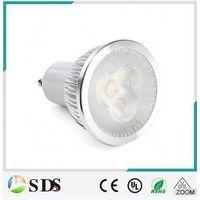 High quality GU10 6W spotlight 600lm warm white LED spot light thumbnail image