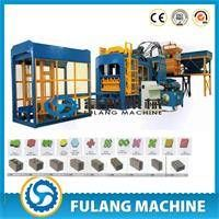 QT10-15 Full automatic zenith block making machine with germany technology production line