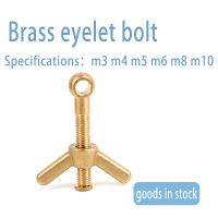 Factory direct knuckle bolt brass sheep eye bolt fish eye bolt can be equipped with angle nut butter thumbnail image