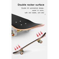 Hot Sale Cool Double Rocker Skateboard Maple Old School Skateboard thumbnail image