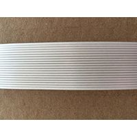 Nontwisting polyester composite strap