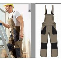Mens Working Dungarees Suit Stock